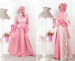 Patriana Dress- baby peach