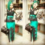 Kebaya Modern Beauty Green