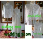 Kebaya Pengantin Wedding Snow