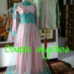 Gaun Pesta Muslim Couple Angelica