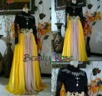 Kebaya Modern Beauty Rose Kuning
