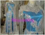 Kebaya Pengantin Rabiya Wedding Blue