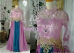 Kebaya Modern Beauty Rose Pink