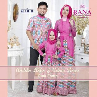 Adine Dress & Koko Andika By Rana Princess Style