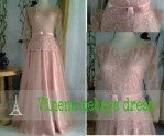 Kebaya Modern New Vinena Peach