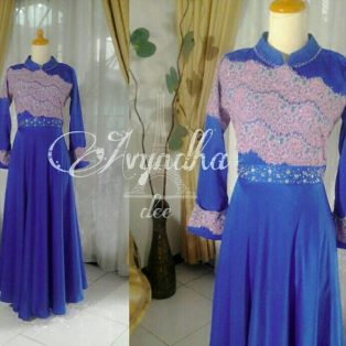 Gaun Pesta Muslim Avyndha Dress
