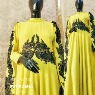 Yellow Cape tabur swarovsky