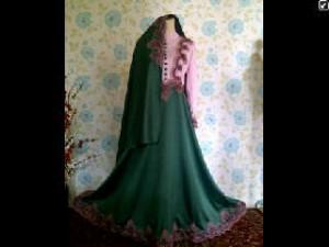 OPEn Po farah dress PInk+ijobotol 355+50rb renda pink.material satin velvet